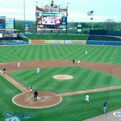 Photo taken at Coca-Cola Park by Jason D. on 5/7/2013