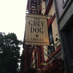 Photo taken at The Grey Dog by Darin B. on 10/23/2012