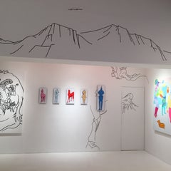 Photo taken at CALM & PUNK GALLERY TOKYO by pechica on 5/31/2015