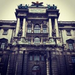 Photo taken at Österreichische Nationalbibliothek - Austrian National Library by Alexton on 11/2/2012