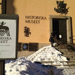 Photo taken at Historiska Museet by Aleksey G. on 1/22/2013