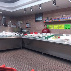Photo taken at Young Fish Market by Built F. on 9/29/2014
