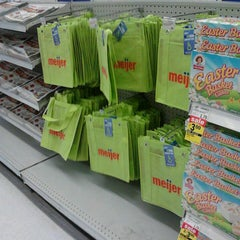 Photo taken at Meijer by Rob B. on 3/20/2013