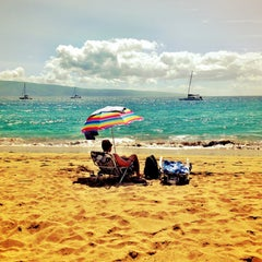 Photo taken at Kā'anapali Beach by diane q. on 4/30/2013