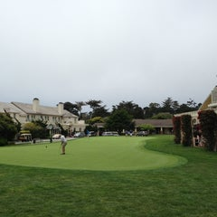 Photo taken at Pebble Beach Golf Links by diane q. on 6/8/2013