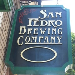 Photo taken at San Pedro Brewing Company by Paul N. on 7/27/2013