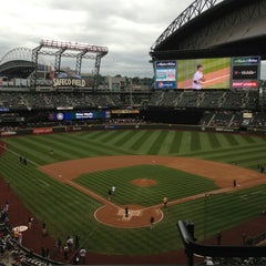Photo taken at Safeco Field by Jarae H. on 6/8/2013