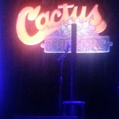 Photo taken at Cactus Theater by Joey M. on 8/16/2014