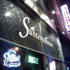 Photo taken at Subterranean by Samantha N. on 10/7/2012