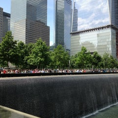 Photo taken at National September 11 Memorial & Museum by Lucas E. on 6/9/2013