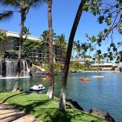 Photo taken at Hilton Waikoloa Village by Taehwan S. on 7/28/2013