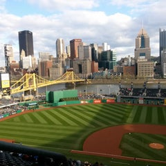 Photo taken at PNC Park by Aaron K. on 4/20/2013