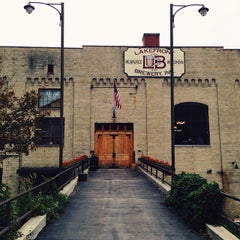 Photo taken at Lakefront Brewery by Shaun M. on 10/18/2013