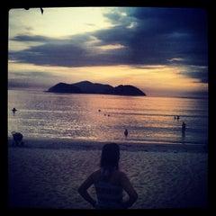 Photo taken at Barra do Sahy by Vini A. on 12/7/2012