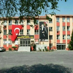 Photo taken at Bahcelievler Anadolu Lisesi by Ipek H. on 8/24/2015