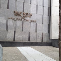 Photo taken at Phillip Burton Federal Building by Tonya M. on 6/5/2013