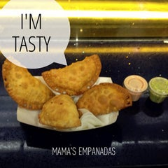 Photo taken at Mama's Empanadas by Oscar M. on 4/26/2013