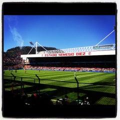 Photo taken at Estadio Nemesio Diez by Denise M. on 11/22/2012