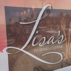 Photo taken at Lisa's Filipino Cuisine by Harvey C. on 10/13/2013