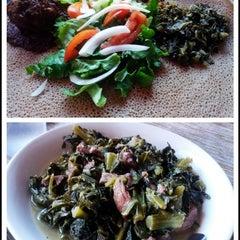 Photo taken at Gojo Ethiopian Restaurant by beno h. on 11/23/2013