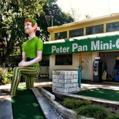 Photo taken at Peter Pan Mini Golf by Cynthia S. on 8/10/2013