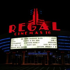 Photo taken at Regal Cinemas Willoughby Commons 16 by Soamazen on 4/19/2014