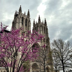 Photo taken at Washington National Cathedral by Chris C. on 4/15/2013