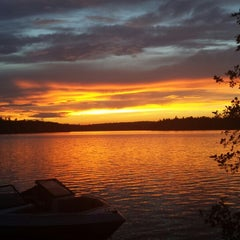 Photo taken at Pleasant Lake by Kaitlyn D. on 7/7/2013