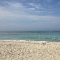 Photo taken at Playa El Silencio by Gianfranco E. on 12/26/2012