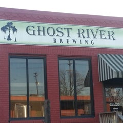 Photo taken at Ghost River Brewery by Tony G. on 11/29/2013