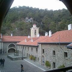 Photo taken at Kykkos Monastery by Siddhartha J. on 1/27/2013