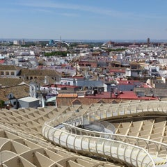 Photo taken at Metropol Parasol by Lala V. on 6/11/2013