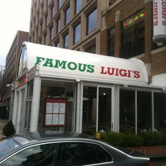 Photo taken at Famous Luigi's by Lenny M. on 3/21/2013