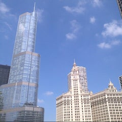 Photo taken at Chicago Architecture Foundation River Cruise by Guy R. on 7/22/2013