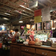 Photo taken at La Grande Orange Grocery & Pizzeria by Lindsay B. on 11/1/2012
