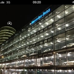 Photo taken at Mercedes-Benz Niederlassung München by Caner N. on 11/30/2012