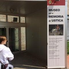 Photo taken at Museo per la Memoria di Ustica by Giovanni B. on 4/26/2014