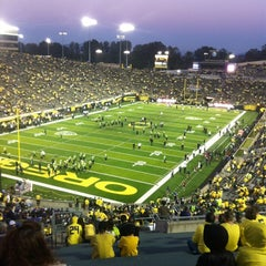 Photo taken at Autzen Stadium by Matt P. on 10/7/2012