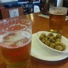 Photo taken at Bar Restaurante Manoli II by Antonio M. on 11/30/2013
