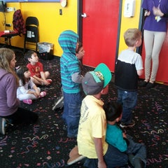 Photo taken at Pump It Up by Crissy V. on 2/23/2013
