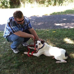 Photo taken at Liberty Humane Society by Susan B. on 9/9/2014