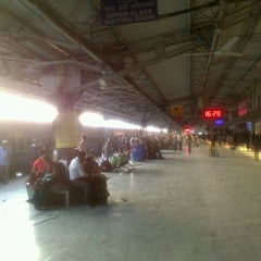 Photo taken at Bilaspur Railway Station by Karthik S. on 11/29/2012