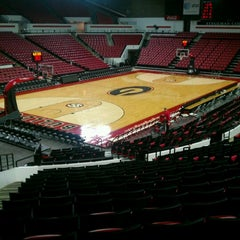 Photo taken at Stegeman Coliseum by Greg L. on 12/29/2012