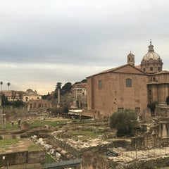 Photo taken at Basilica S.Cosma e Damiano by Buğra T. on 1/20/2016