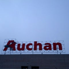 Photo taken at Auchan by L S. on 3/17/2013