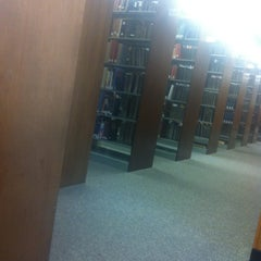 Photo taken at Blume Library by Vince V. on 4/11/2013