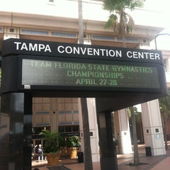 Photo taken at Tampa Convention Center by Monique R. on 4/27/2013