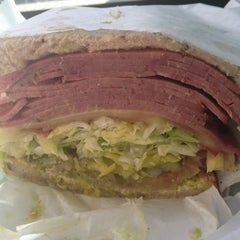 Photo taken at Mr. Pickle's Sandwich Shop by Brian B. on 12/8/2012