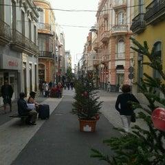 Photo taken at Calle Castillo by Sandra B. on 12/9/2012