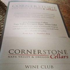 Photo taken at Cornerstone Cellars by Tim S. on 7/21/2015